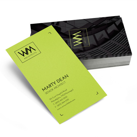 Business Cards in Standard Sizes \u2013 Free Print Design Templates